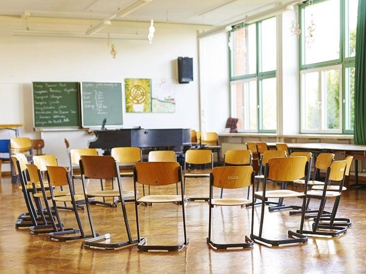 Klassenzimmer Stuhlkreis